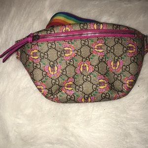Gucci girls waist pouch
